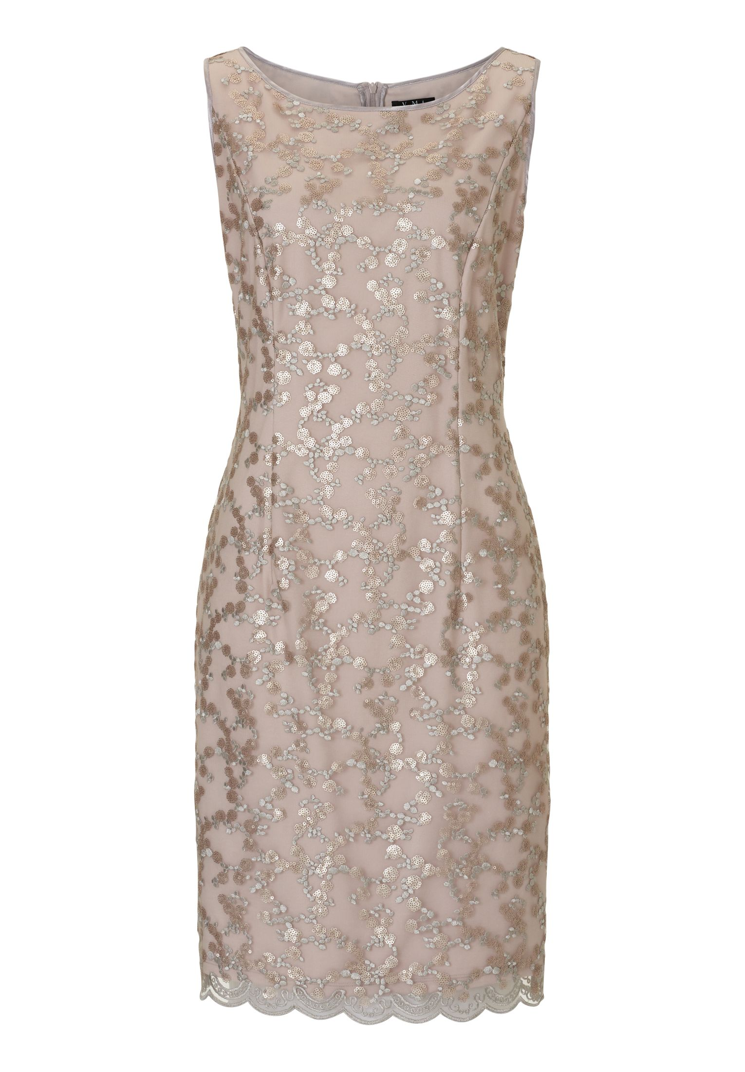 Vera Mont Embellished shift dress, Rose