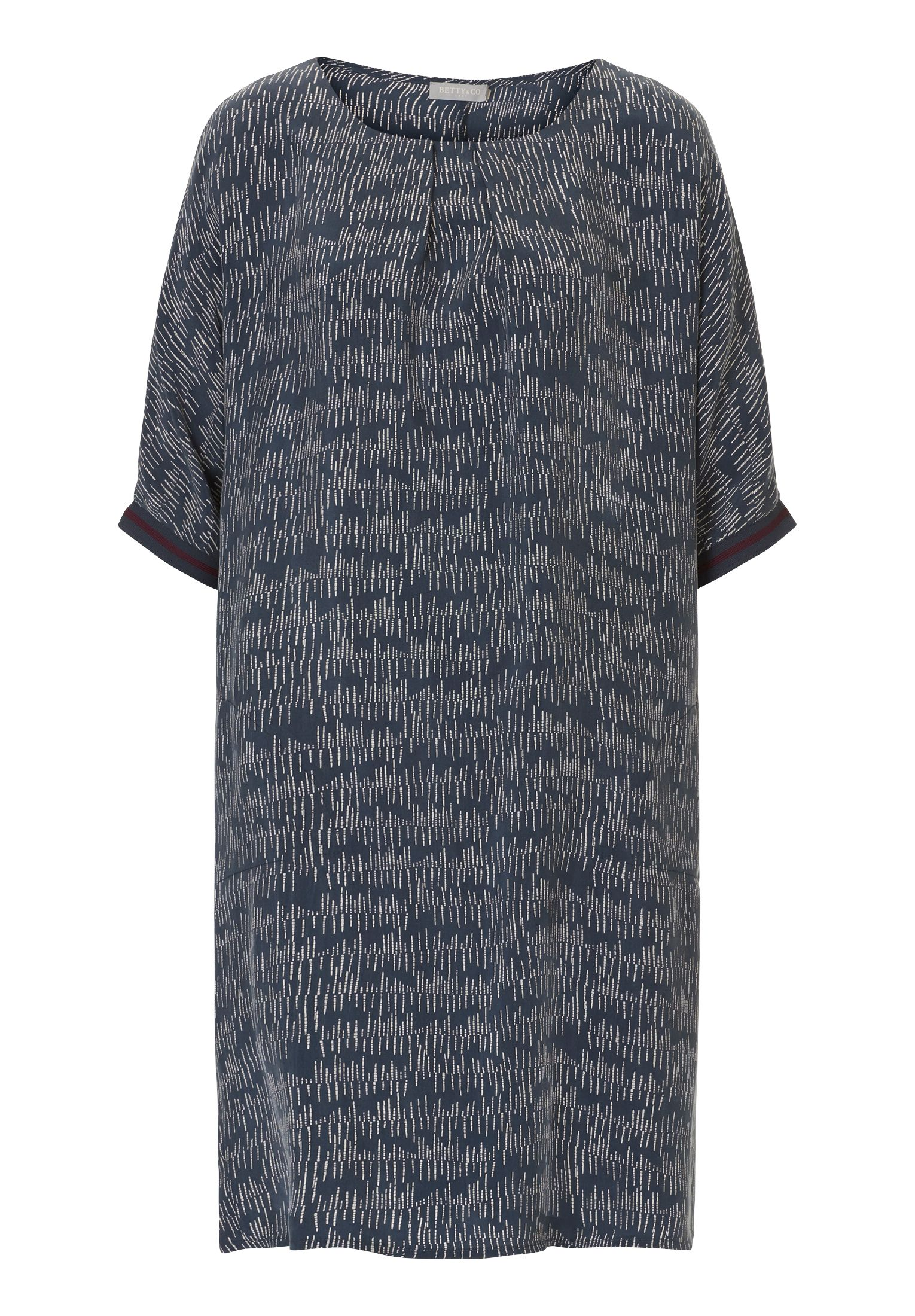 Betty & Co. Speckle print dress, Blue