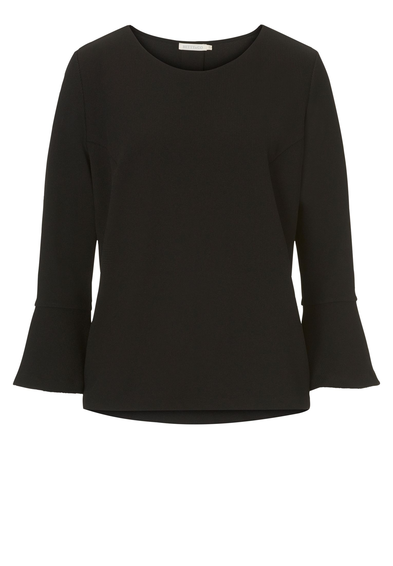 Betty & Co. Bell sleeved top, Blue