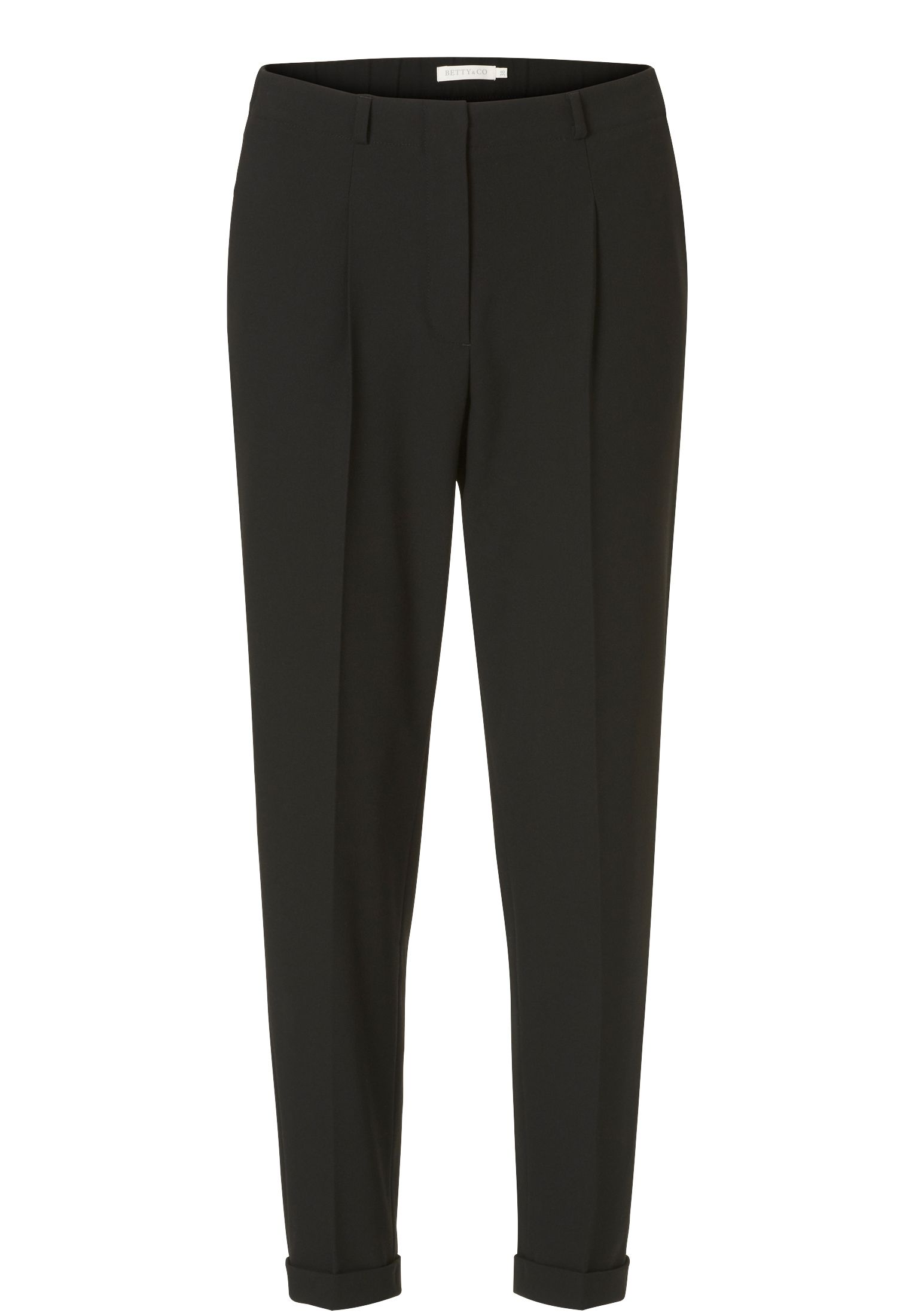 Betty & Co. Crêpe tailored trousers, Multi-Coloured