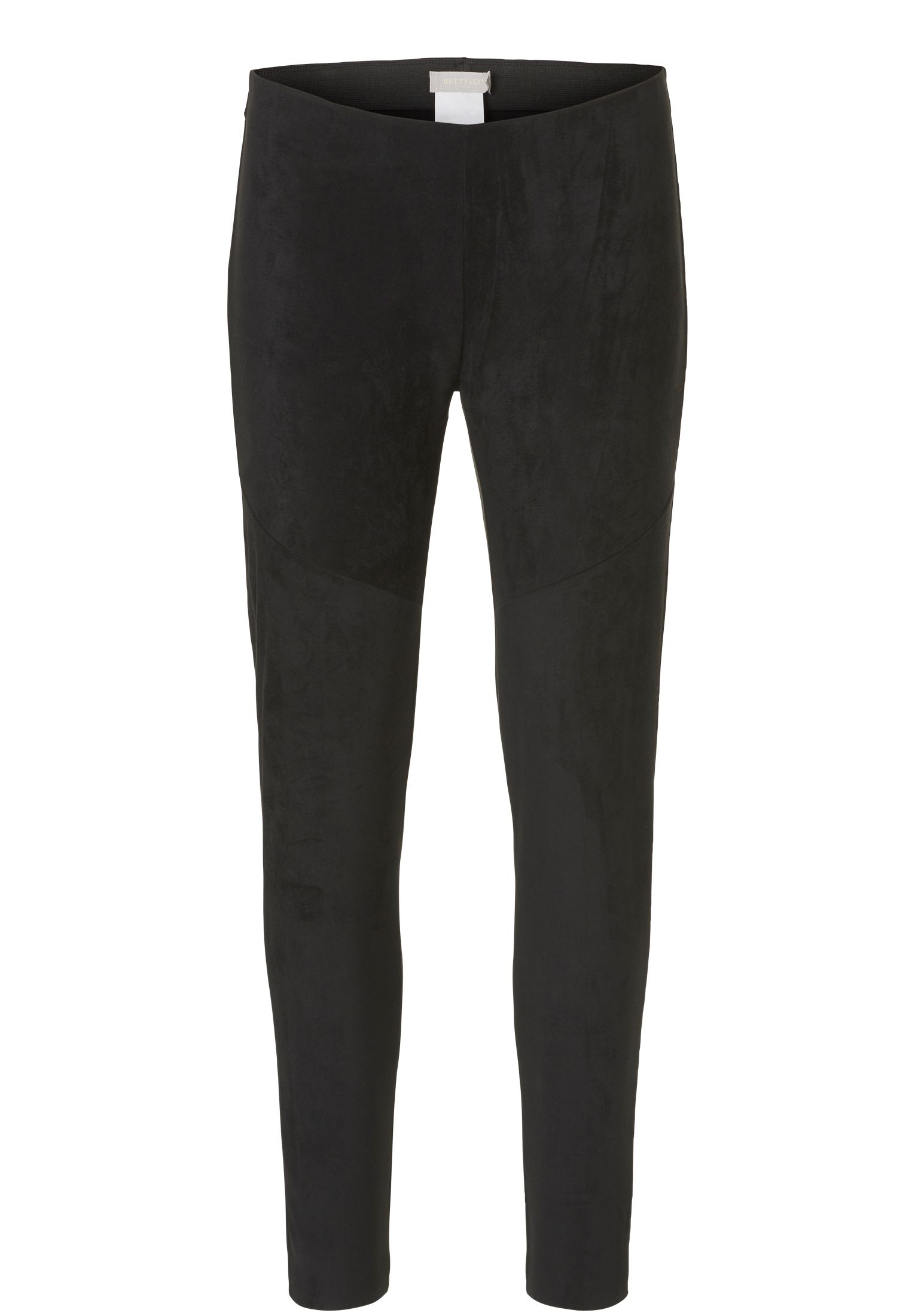 Betty & Co. Faux suede trousers, Grey