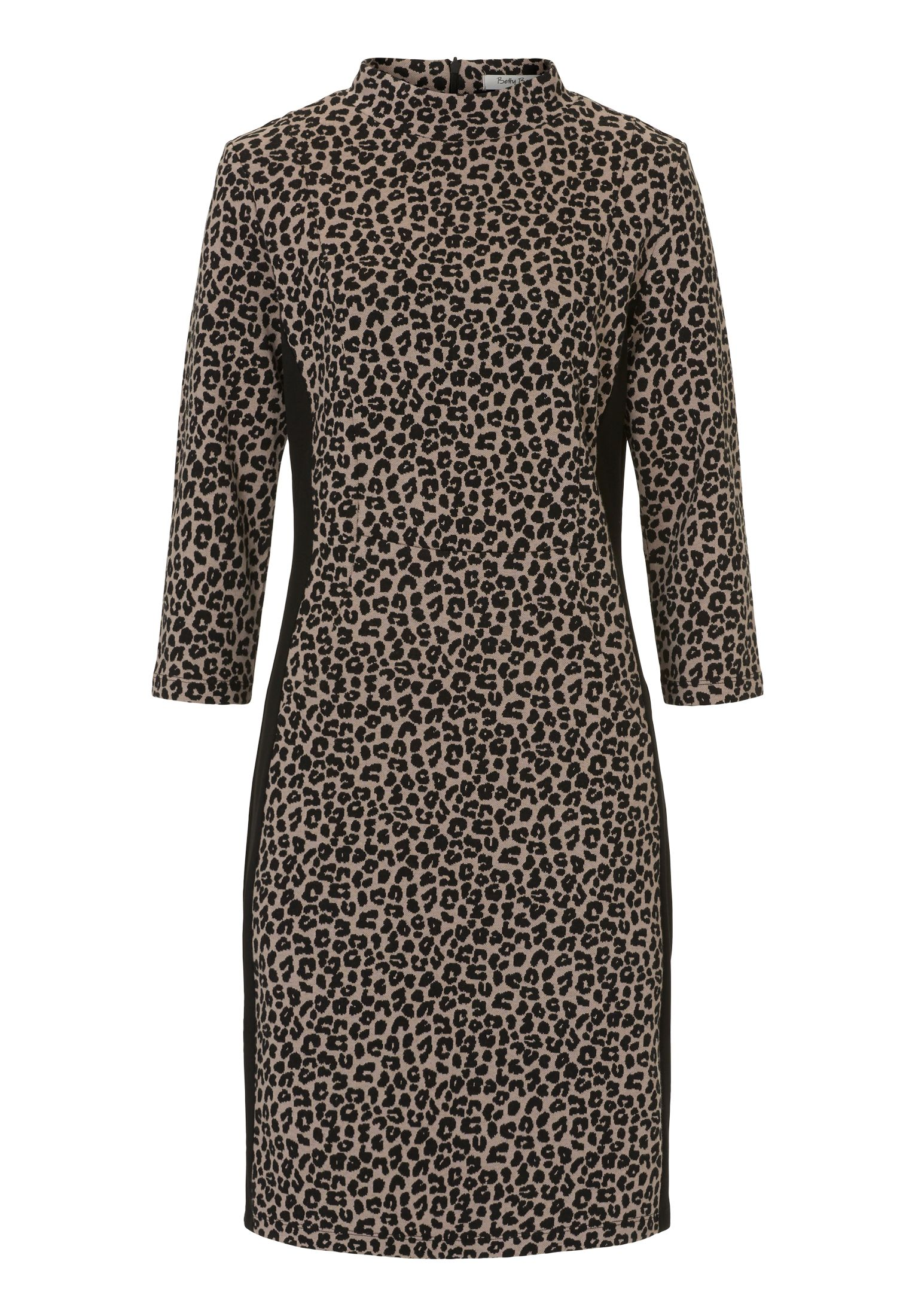 Betty Barclay Animal Print Dress, Multi-Coloured