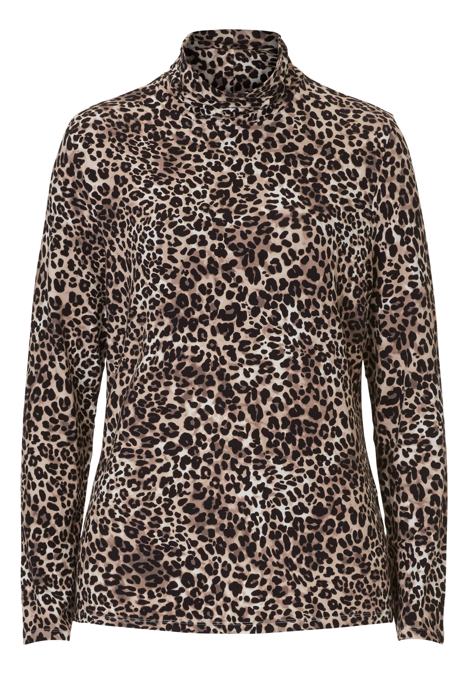 Betty Barclay Animal Print Top, Multi-Coloured