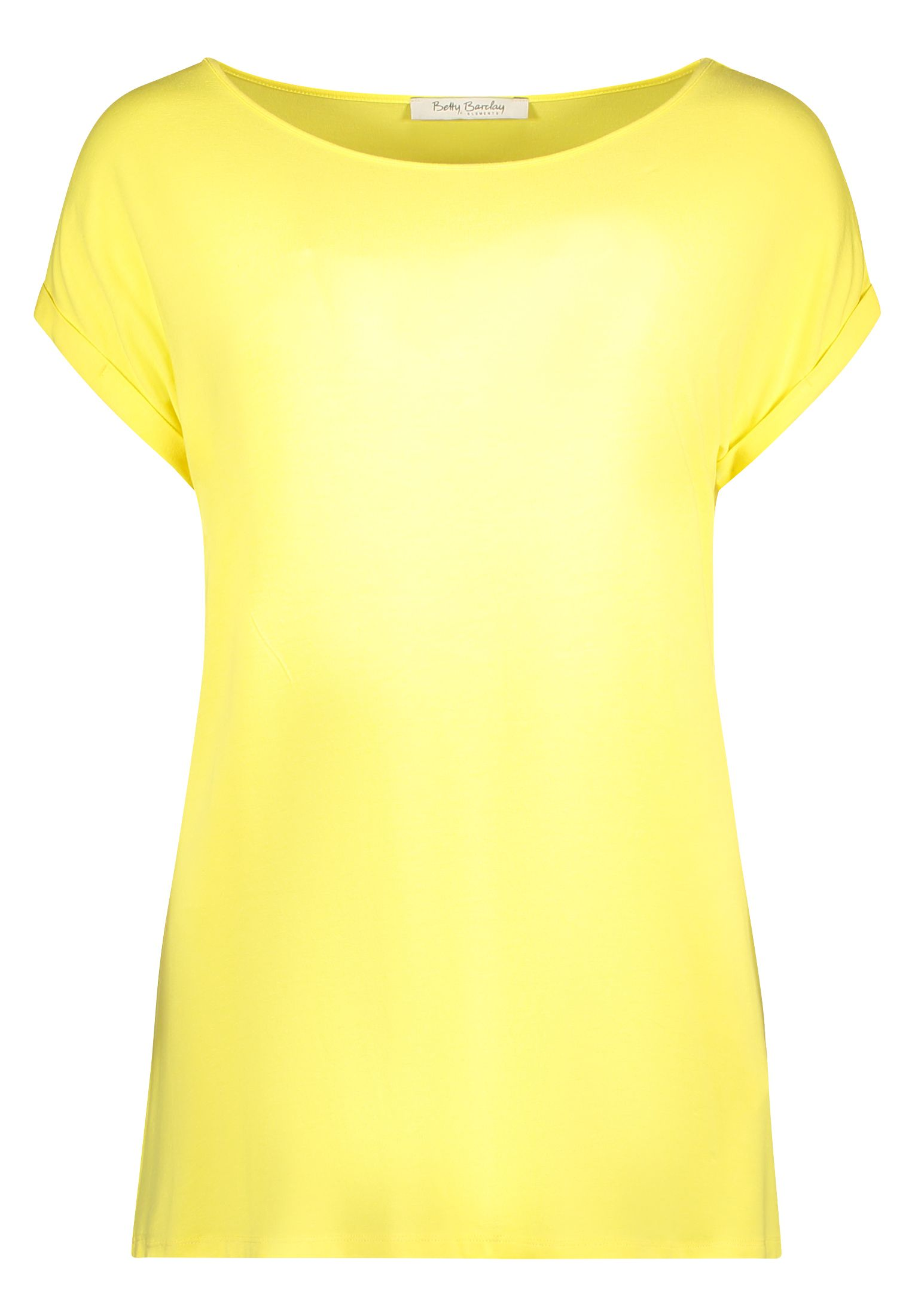 Betty Barclay Cap Sleeve T-Shirt, Yellow