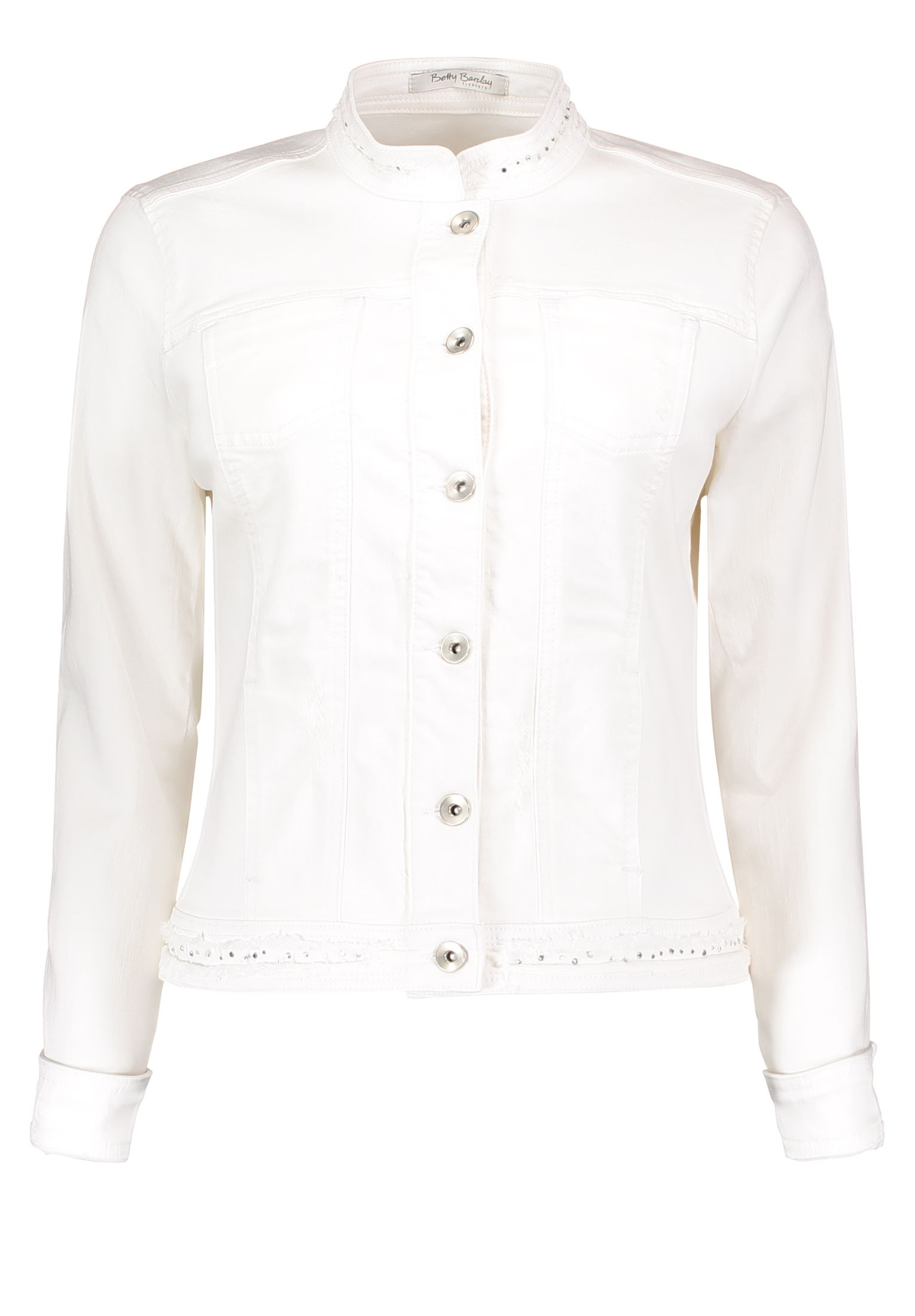 Betty Barclay Denim Jacket, White