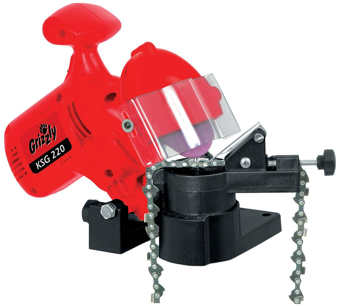 Image of Grizzly Electric chainsaw chain sharpener