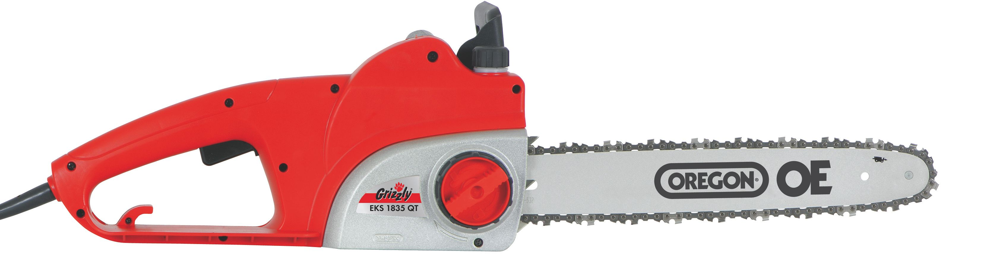 Image of Grizzly Grizzly 1800w electric chain saw 35cm