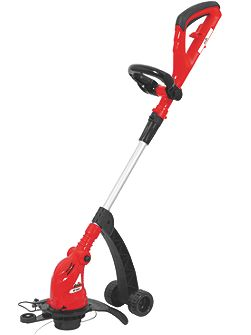 Grizzly 530w wheeled lawn trimmer
