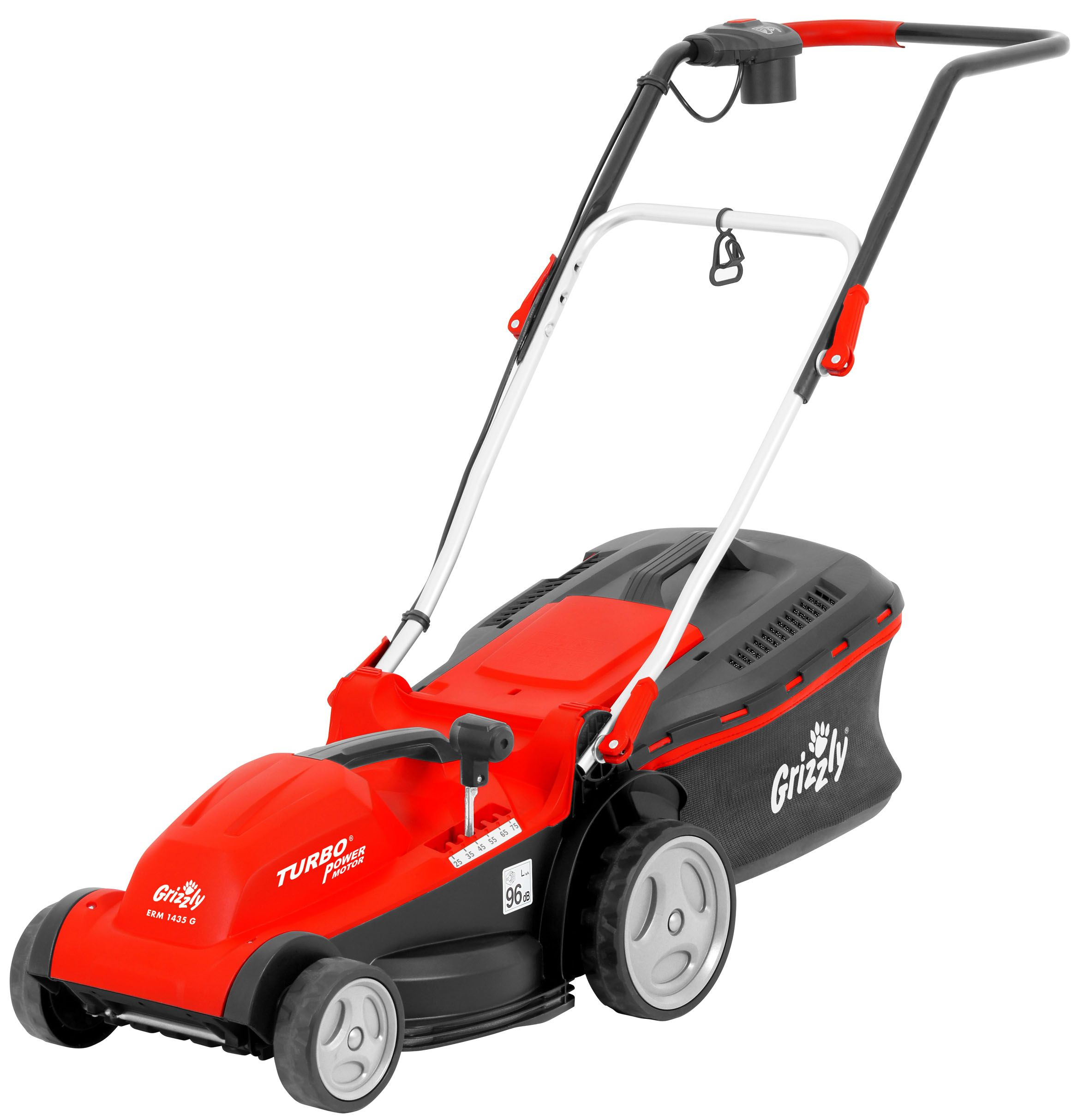 Image of Grizzly Grizzly 1400w electric mower 35cm cut