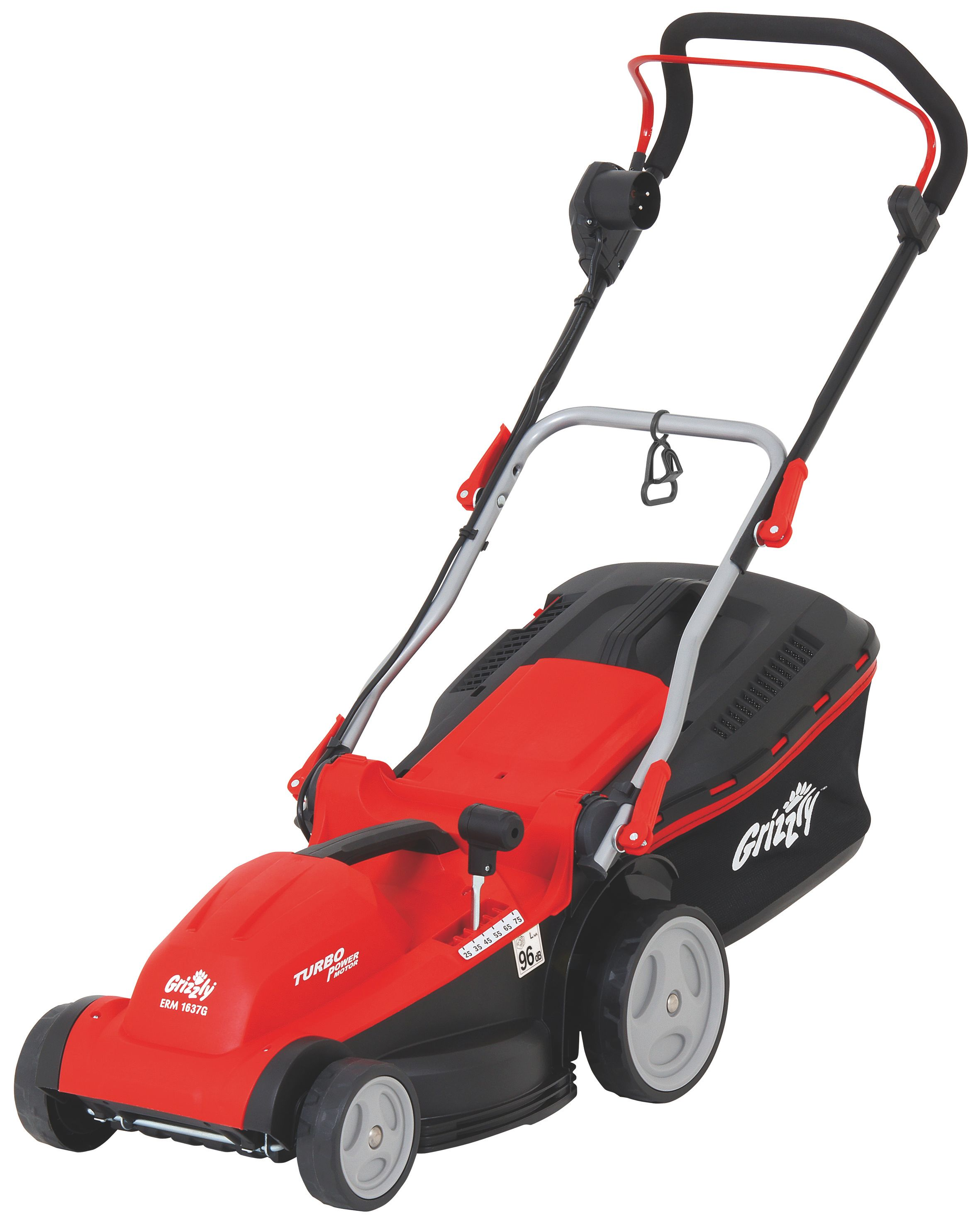Image of Grizzly Grizzly 1600w electric mower 37cm cut