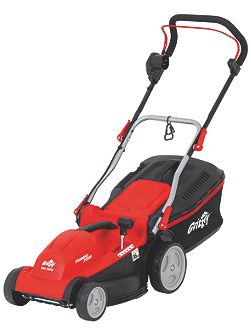 Grizzly 1600w electric mower 37cm cut