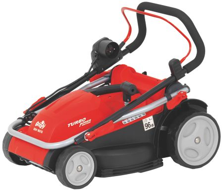 Grizzly Grizzly 1600w electric mower 37cm cut