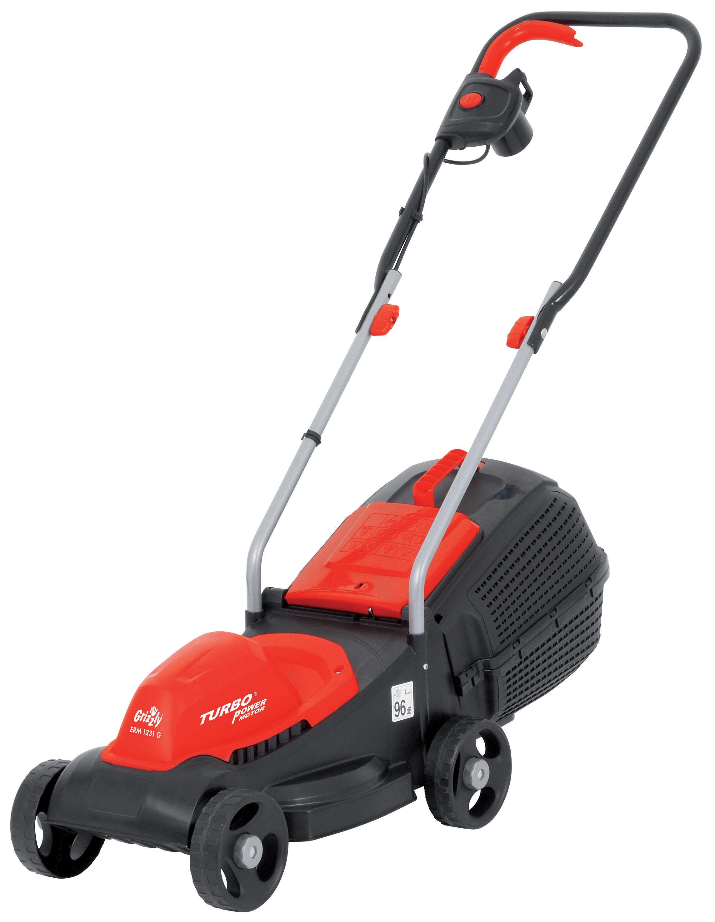 Image of Grizzly Grizzly 1200w electric mower 31cm cut