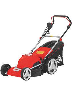 Grizzly 1800w electric mower 46cm cut