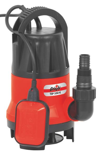 Grizzly Grizzly 550w electric water pump