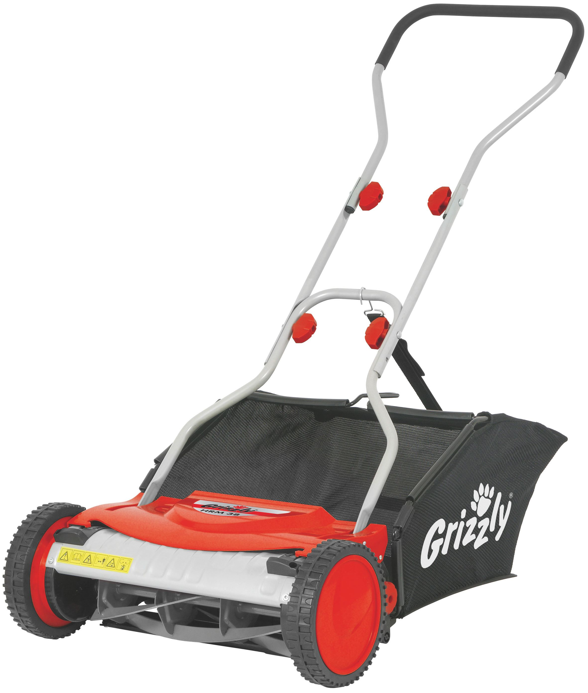 Image of Grizzly Grizzly manual lawn mower 38cm cut