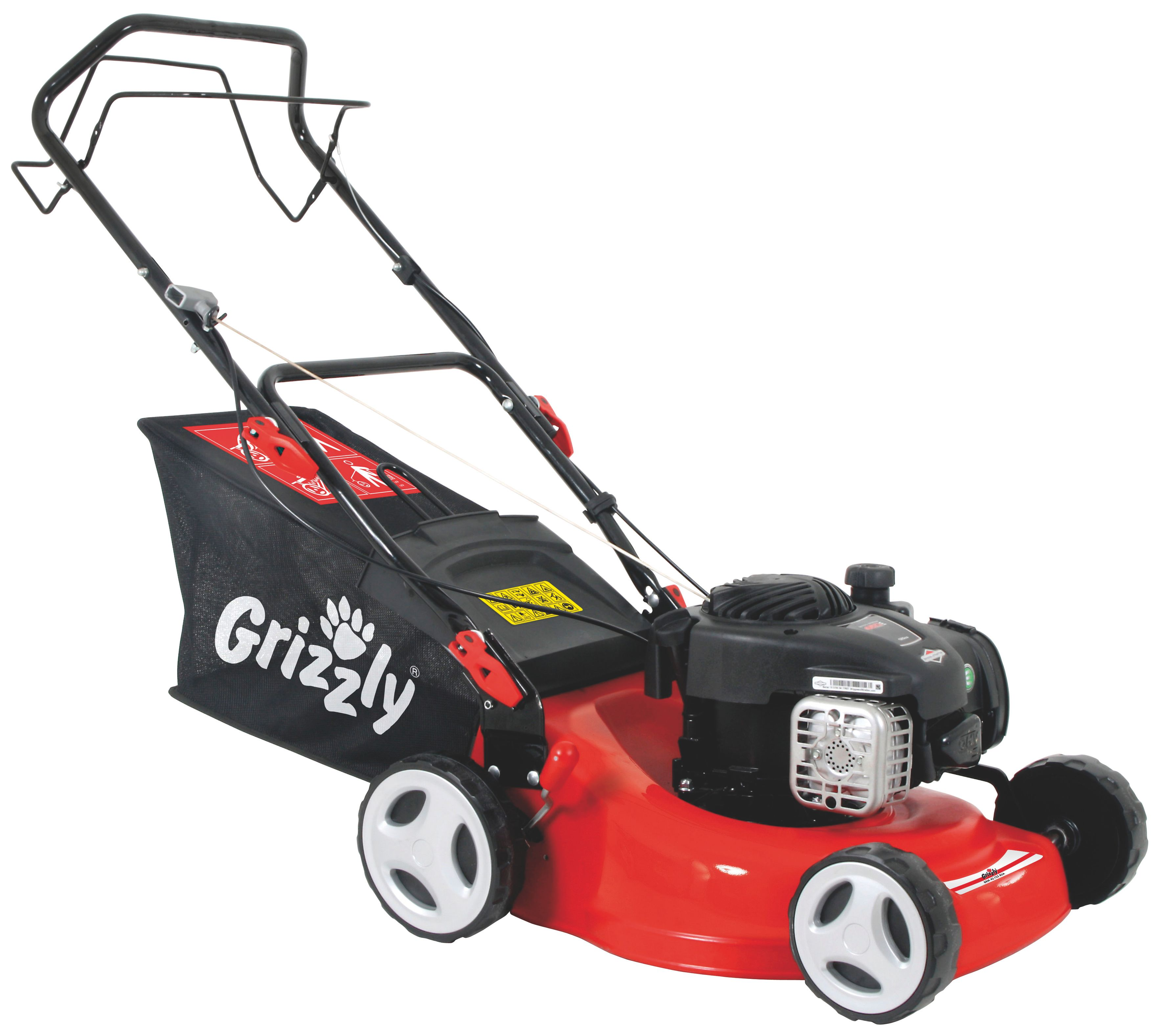Image of Grizzly Petrol lawn mower