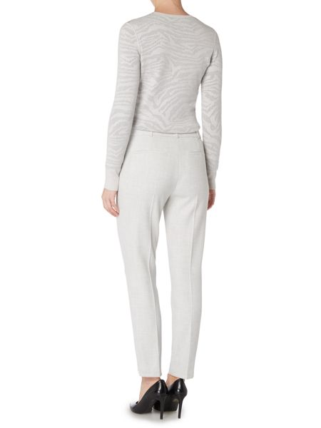 Hugo Boss Acnes6 Front Zip Tapered Leisure Trouser