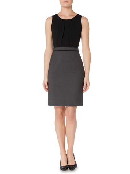 Hugo Boss Deleila1 Combo Square Dot Suit Dress