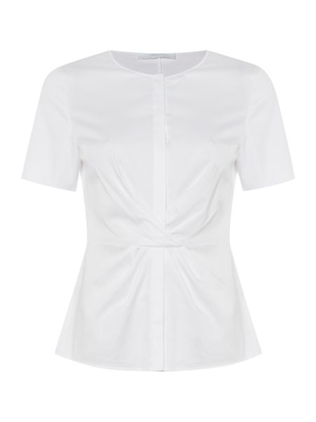 Hugo Boss Bitwisti2 Waist Crossover Cotton Shirt