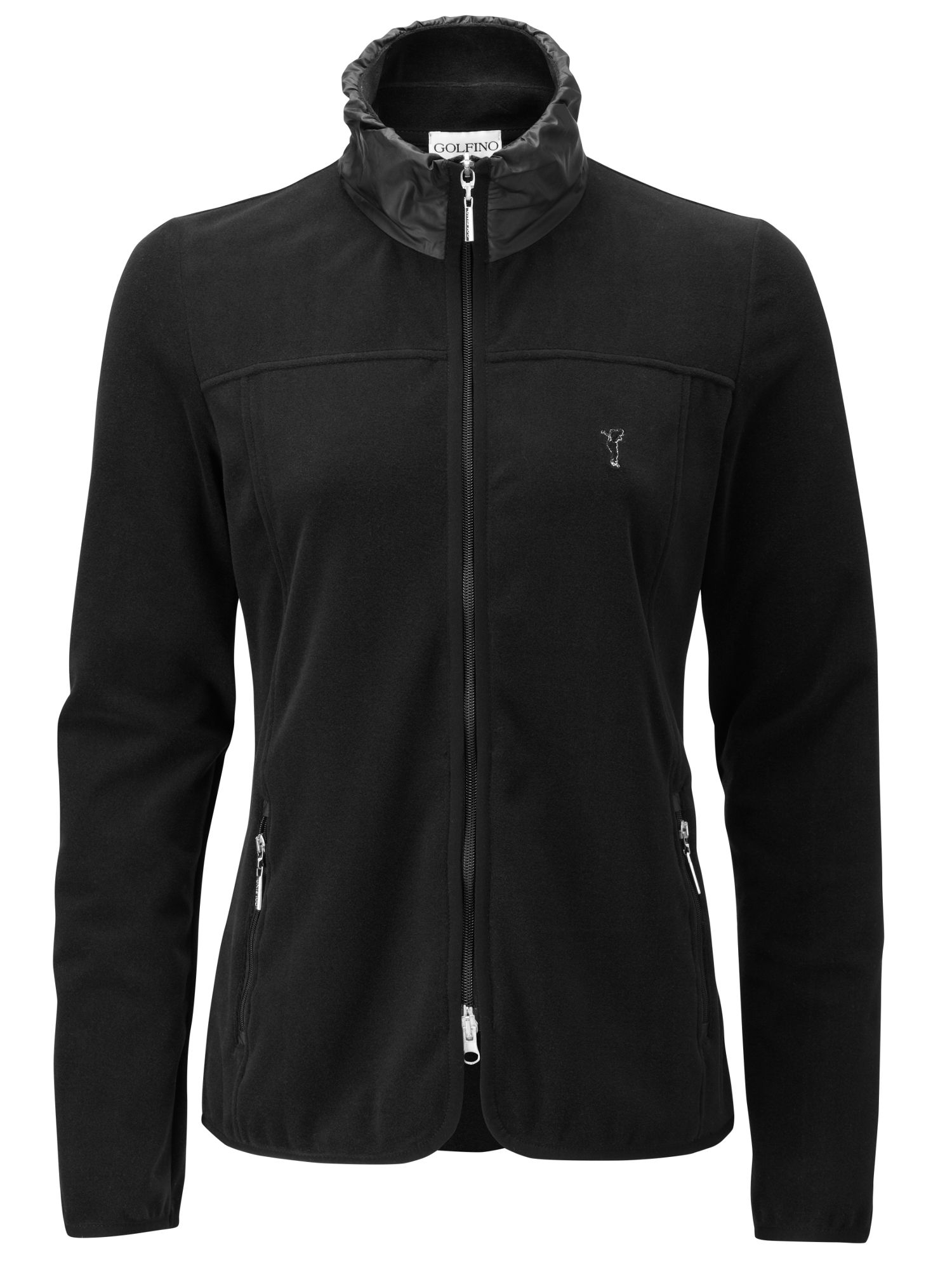Techno stretch fleece jacket
