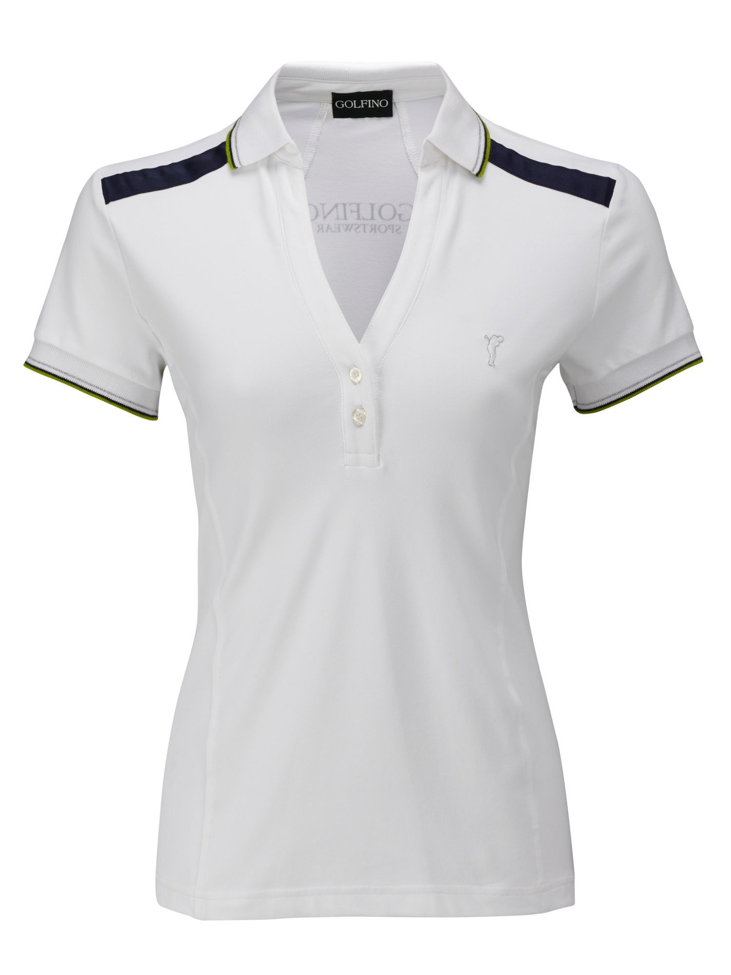 Uv protection plain pique polo