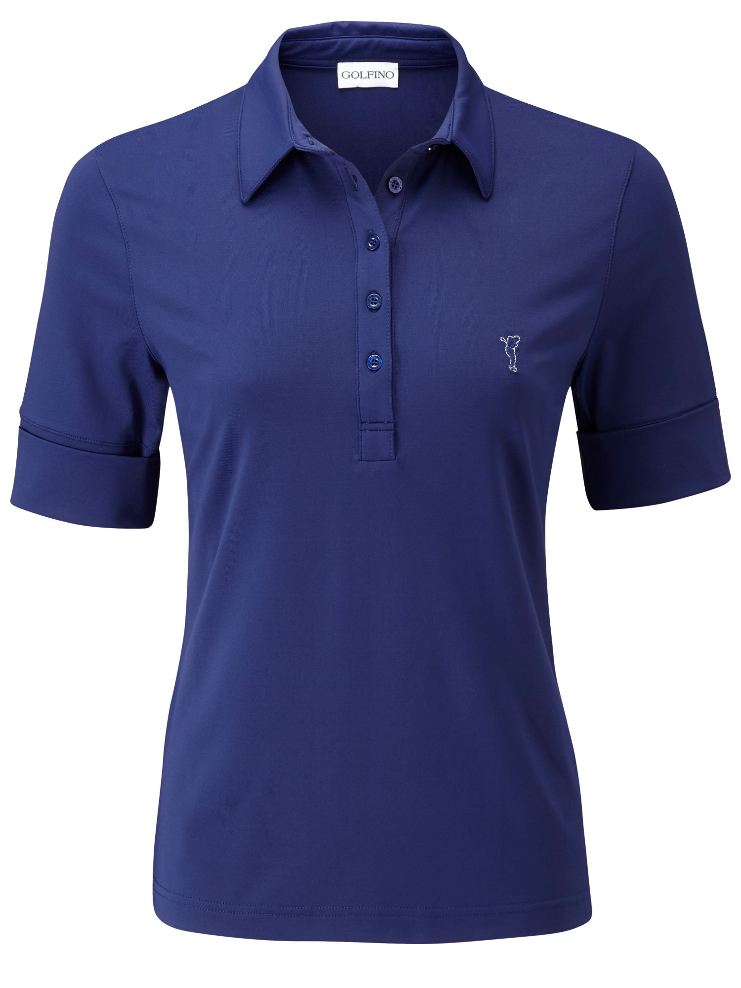 Dry comfort fold up sleeves polo
