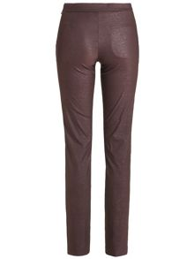 Golfino Tech stretch snakeskin trousers