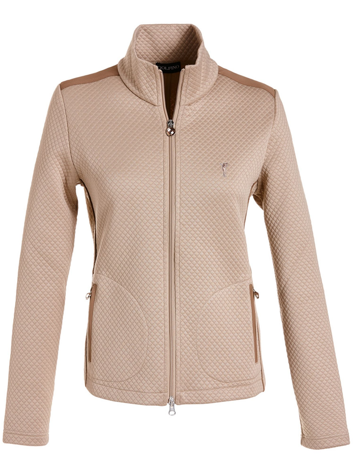 Golfino Golfino Diamond Padded Jacket, Camel