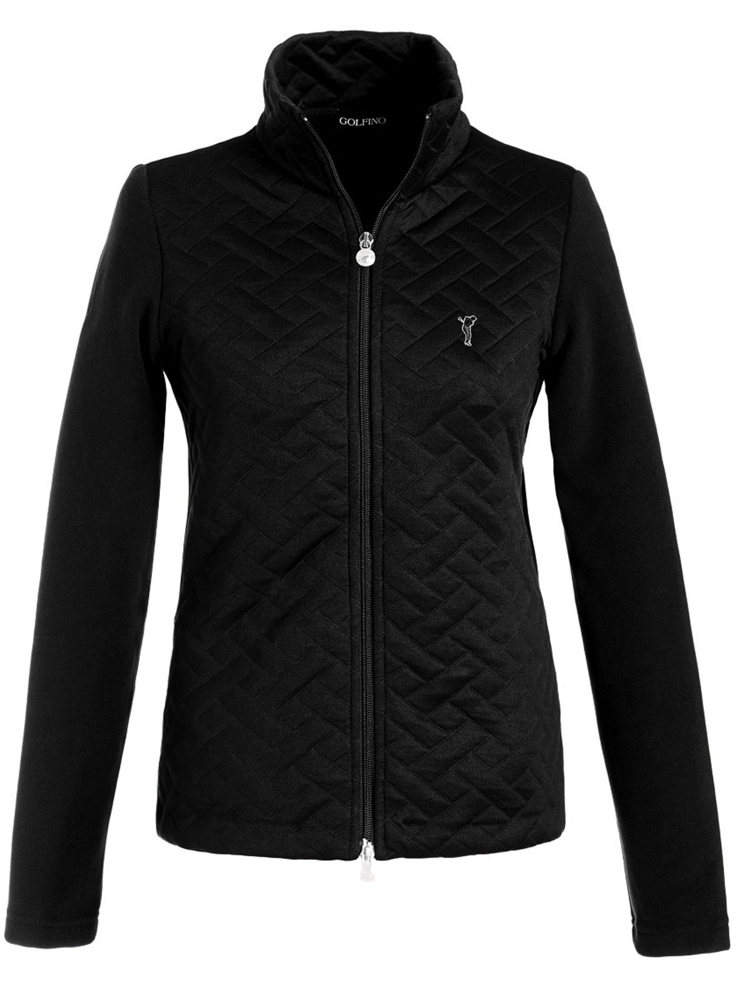 Golfino Fleece Jacket, Black