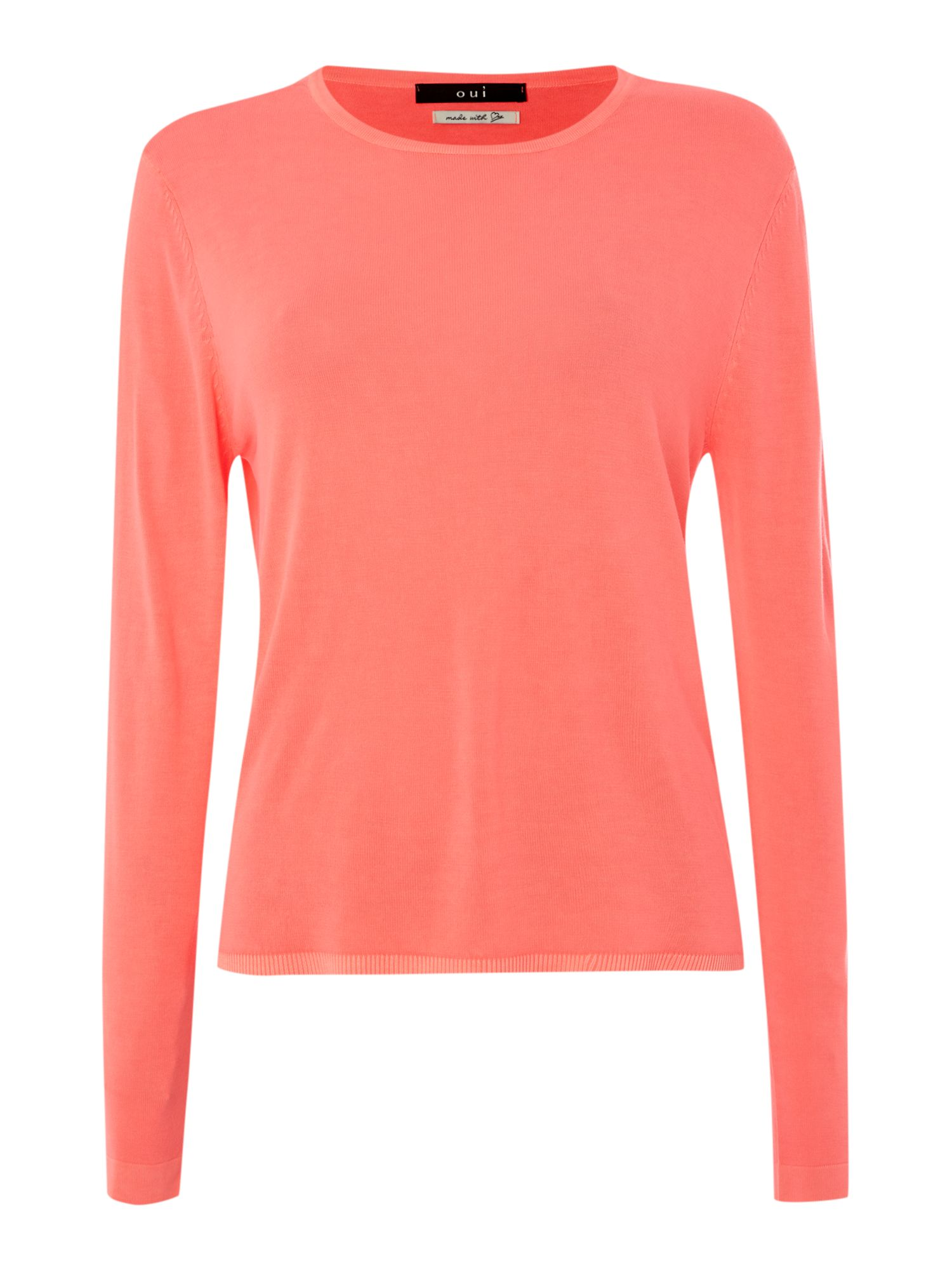 Long sleeved jersey knit