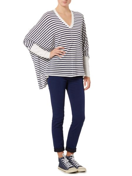 Oui Oversized stripe jumper
