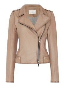 Oui Leather Jacket