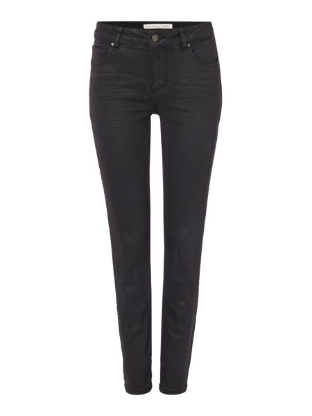 Oui Coated Skinny Jean