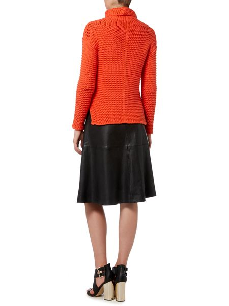 Oui Chunky roll neck jumper