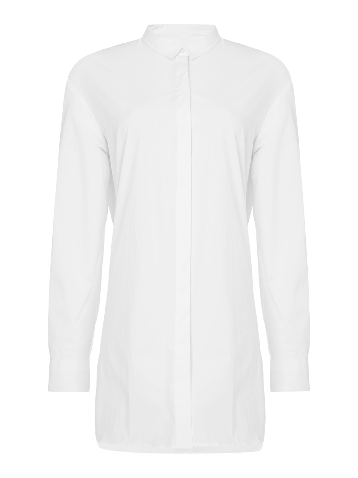 Oui Long shirt, White