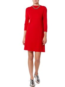 Oui Mock neck knit dress