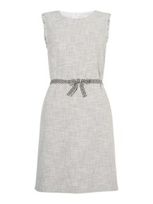 Oui Textured shift dress