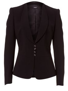 Blazer with Shawl Collar