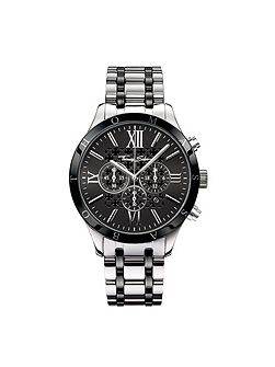 Rebel at Heart Steel Ceramic Chronograph Watch