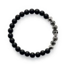 Thomas Sabo Rebel At Heart Obsidian Bracelet