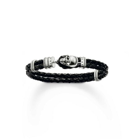 Thomas Sabo Special Edition Leather Skull Bracelet