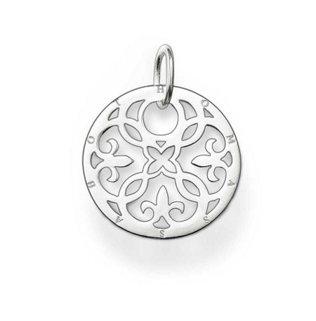 Thomas Sabo Special Addition Silver Arabesque Disc