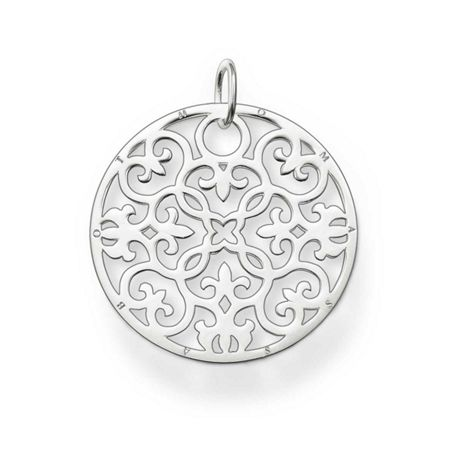 Thomas Sabo Special Addition Large Silver Disc