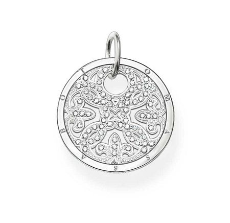 Thomas Sabo Special Addition Small Silver Disc