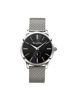 Rebel at heart mesh strap watch