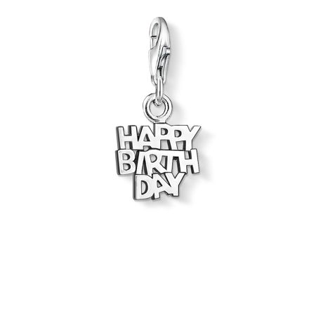 Thomas Sabo Charm club happy birthday pendant