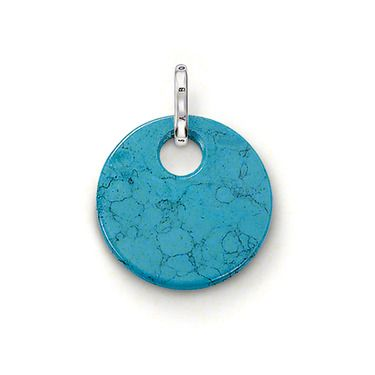 Special addition small turquoise disc