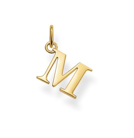 Thomas Sabo Special addition m initial pendant