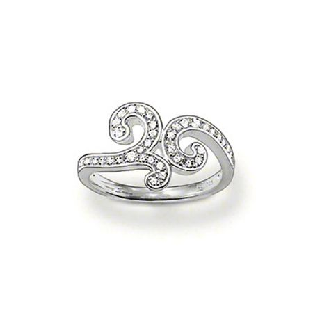 Thomas Sabo Special additions arabesque style ring